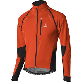Löffler San Remo WS Softshell Light Zip-Off Fietsjas Heren, fiesta